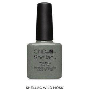Other - CND Shellac Color Coat in Wild Moss